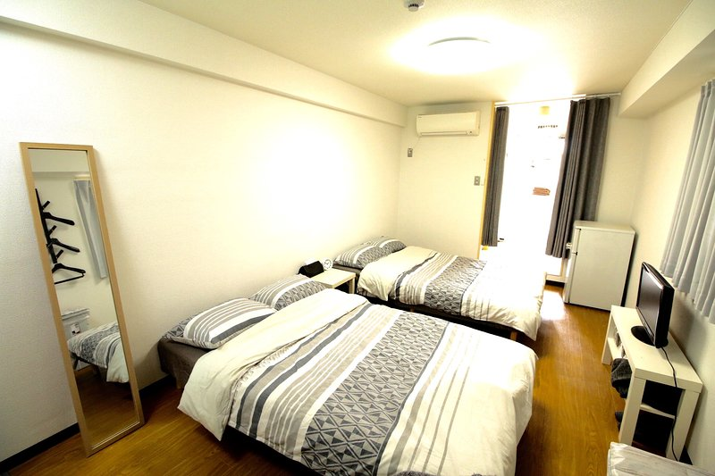 Namba hotel 2 rooms, holiday rental in Dotombori