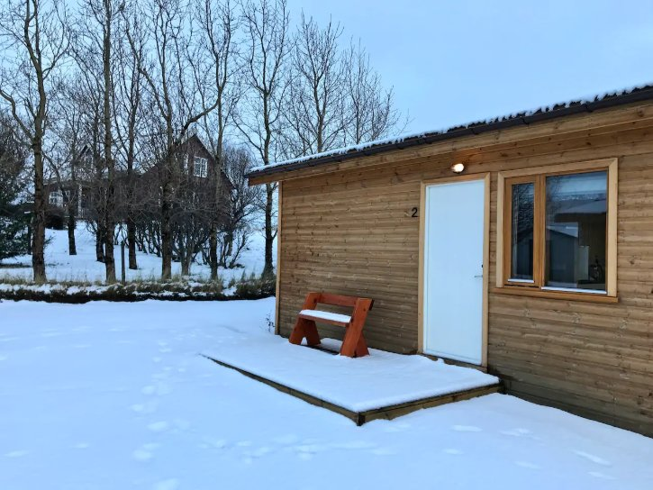 Lundar Cabin #2 in West Iceland, holiday rental in Bifrost