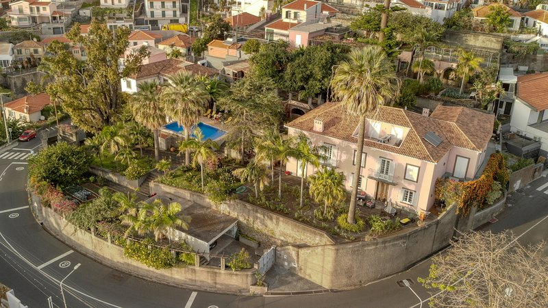 Aerial view of the Quinta
