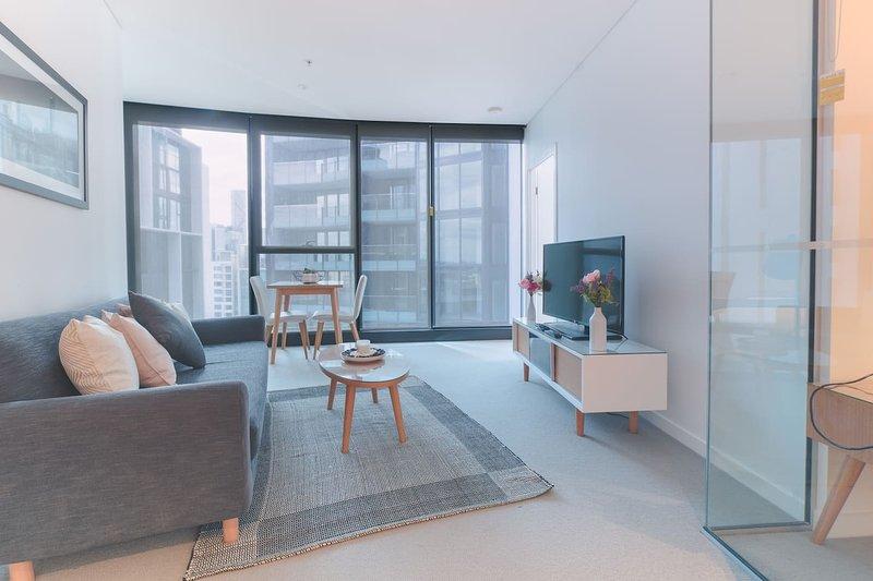 Sky High 2 Bedroom Apartment in Central Brisbane, location de vacances à Mount Gravatt