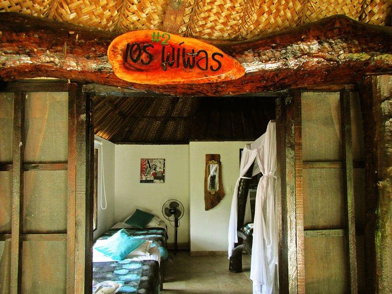 Wiwa Tribe Family Bungalow - Villa Tayrona, holiday rental in Buritaca