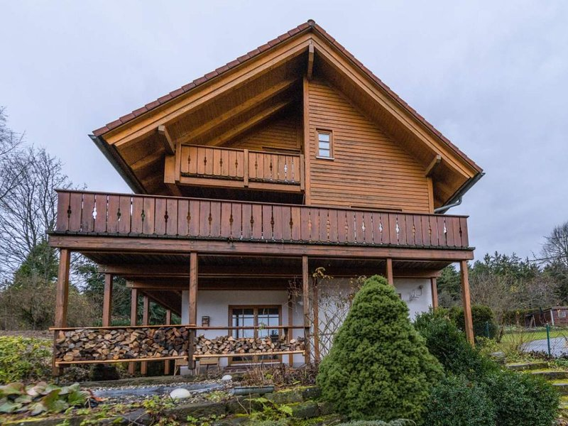 Wooden holiday home Oberbrändi Black Forest with Wellness, holiday rental in Rosenfeld