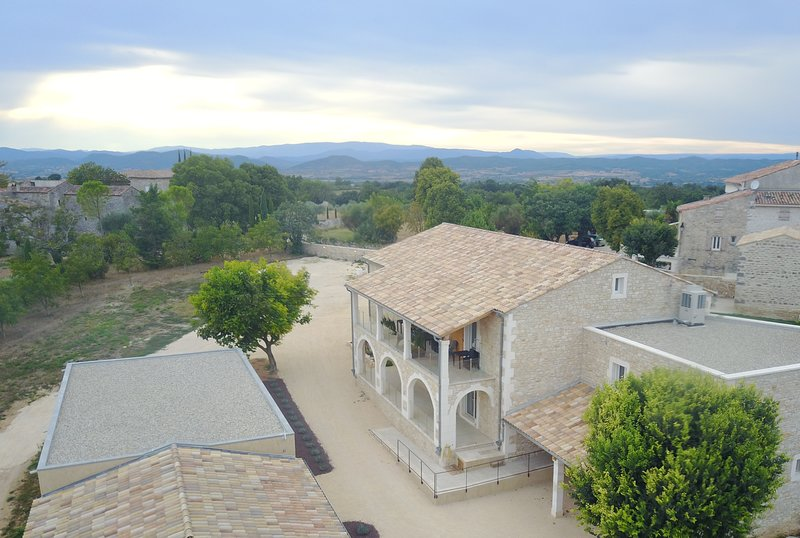 One of the Drone views from Clos des Taulelles