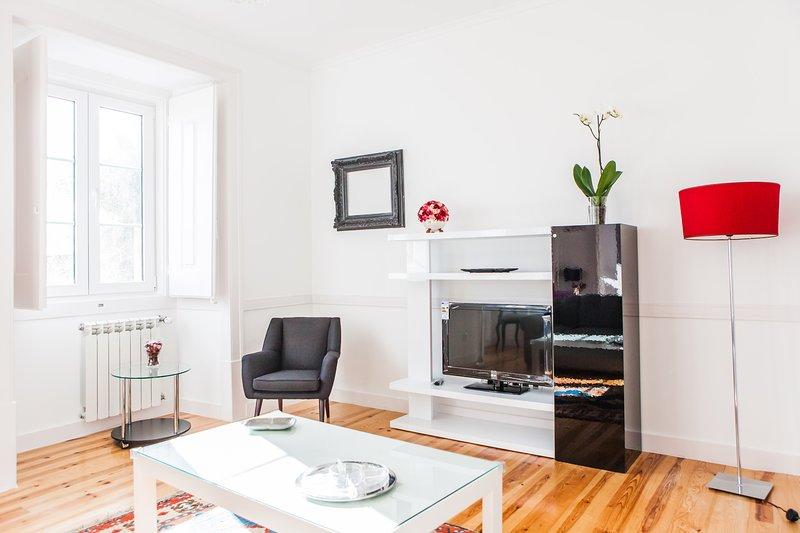 Salon lumineux, Sat.TV. Telefon och WIFI internet-Bright Living Room
