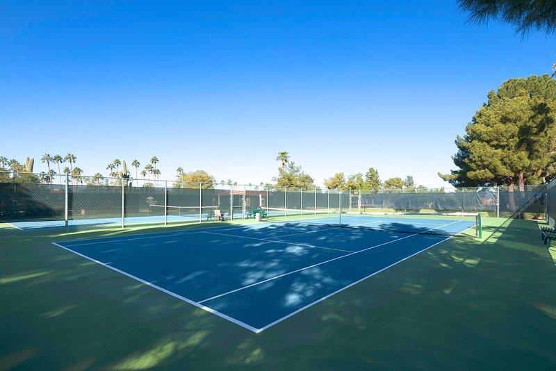 ¡Juega un juego de tenis!