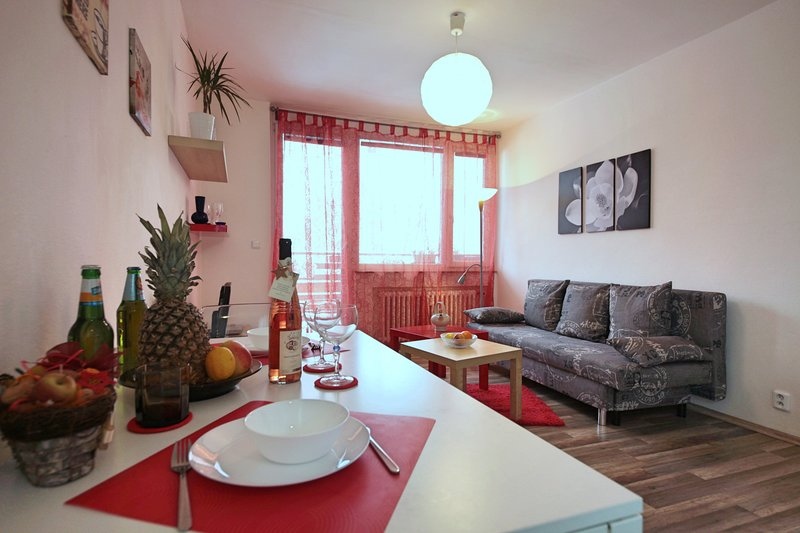 Apartment near centre, free bikes, terrace, casa vacanza a Unhost