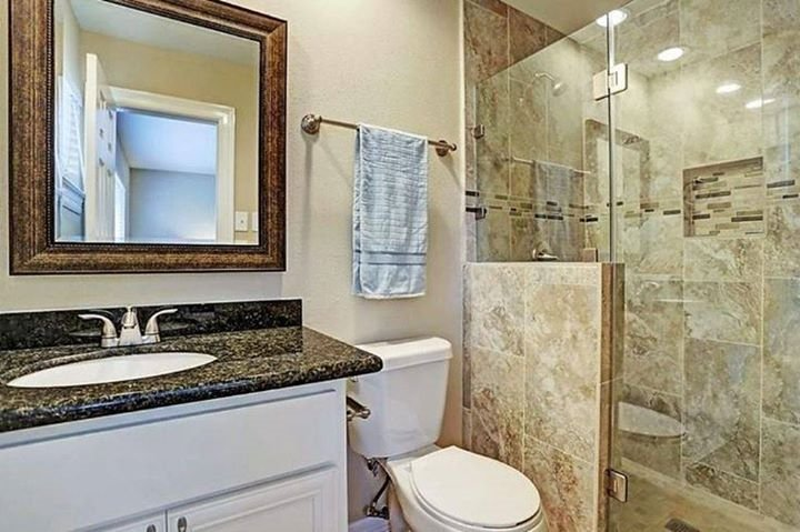 Bathroom clean and new
