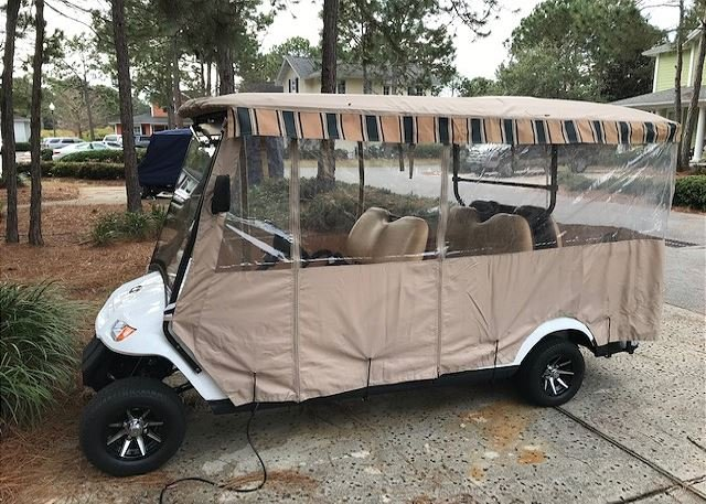 Six Seat Golf Cart