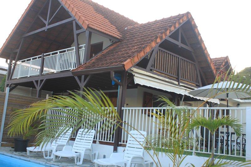 T3 sur la routes des plus belles plages de Martinique, vacation rental in Sainte-Anne
