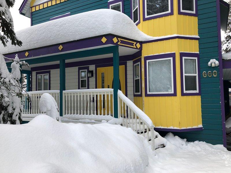 Authentic Ski Cabin