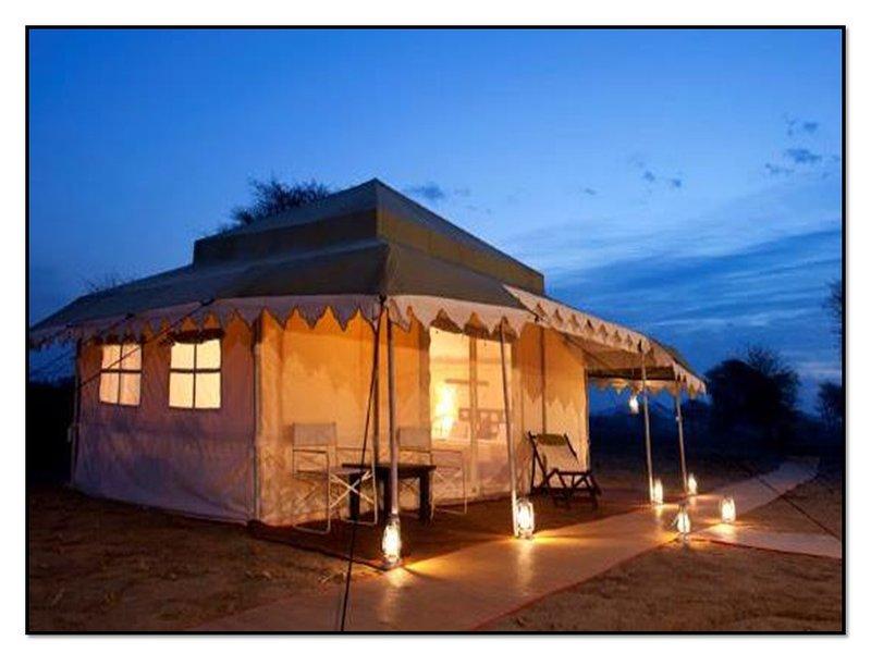 Kumbh Sukrit Camp in Allahabad, alquiler vacacional en Chail