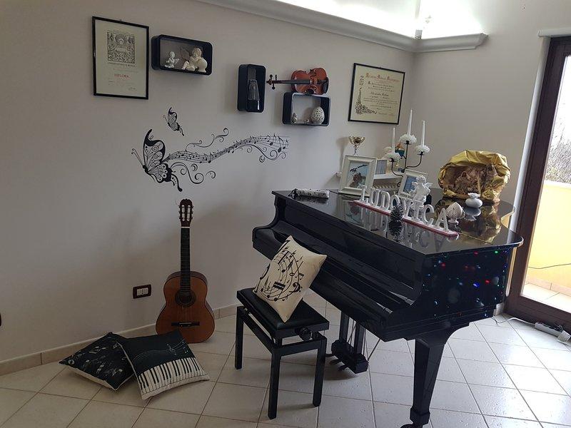 CASA DEL MUSICISTA VILLA RELAX, holiday rental in Marina di Pulsano