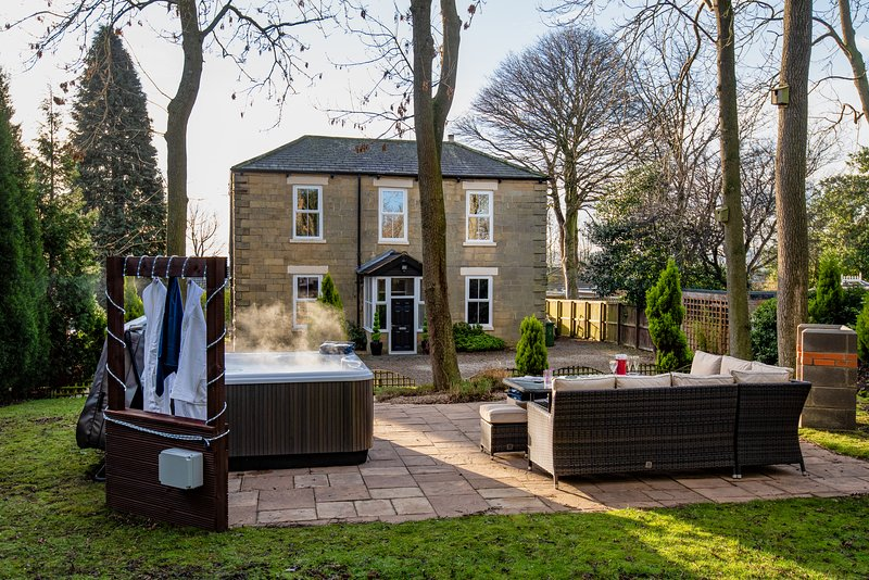 Newcastle & Durham 15 minutes, Hot-tub luxury, casa vacanza a Beamish