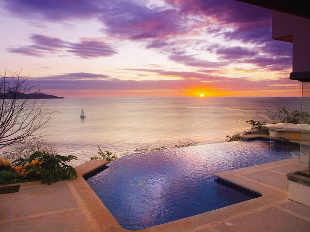 Stunning Pacific sunsets await you and your guests