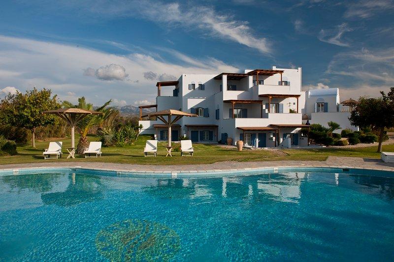 Ammos Naxos Exclusive Apartments, holiday rental in Glinado