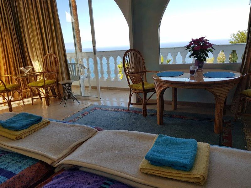 Villa Larnia Panorama Apartment, alquiler vacacional en El Sauzal