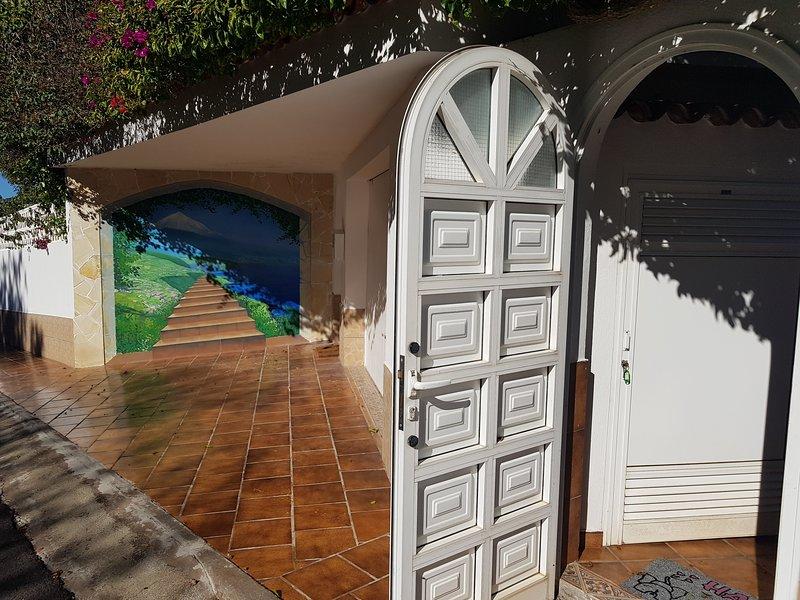 Entrée de l'appartement Villa Larnia
