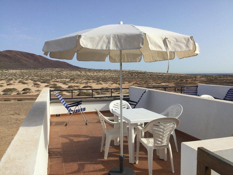 La Duna, your spot in La Graciosa, holiday rental in Caleta de Sebo