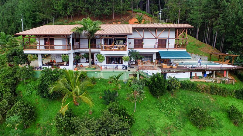 Amazing Finca El Diamante Hotel Boutique, in the Coffee Zone near Medellin! – semesterbostad i Antioquia Department