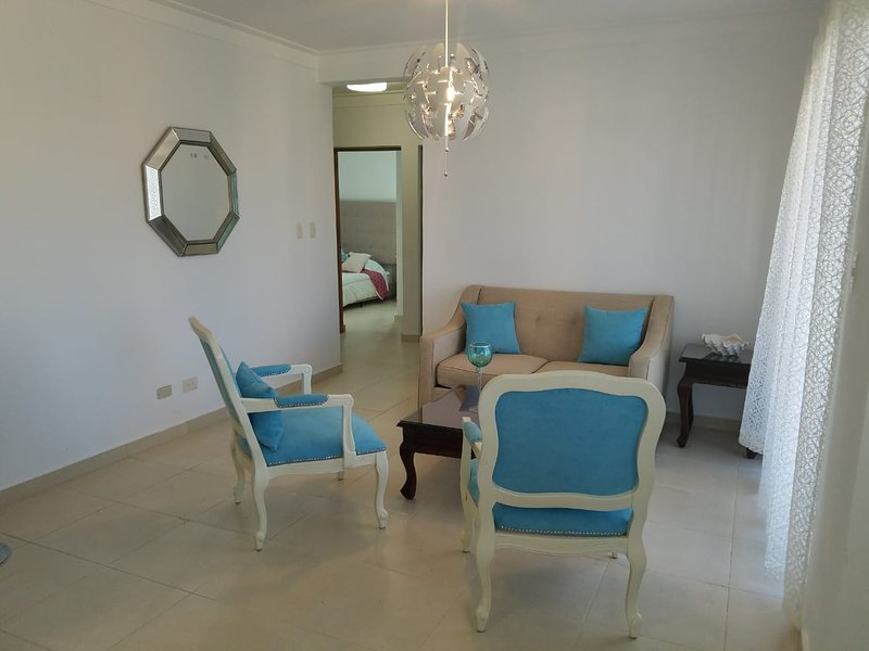 NEW LISTING!Terrace, balcony, 5 min to US Embassy★, holiday rental in Pedro Brand