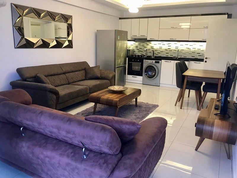 New Boutique Deluxe Apartment In Didim Altinkum – semesterbostad i Altinkum