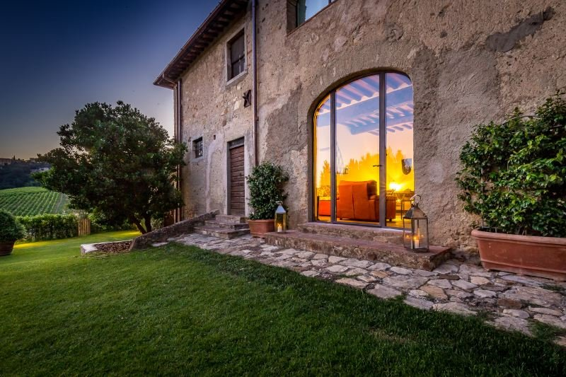 Calzaiolo Villa Sleeps 12 with Pool Air Con and WiFi - 5218135, vacation rental in San Casciano in Val di Pesa