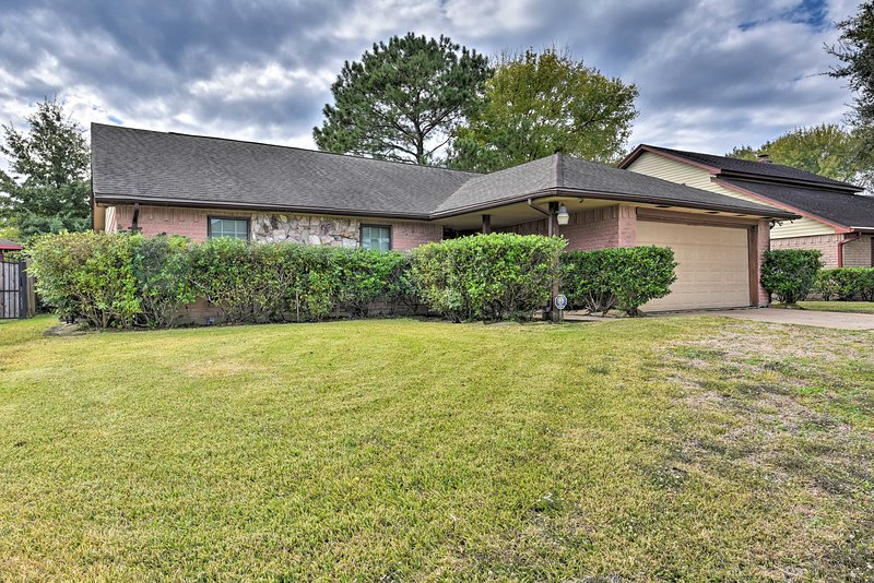 Located in Missouri City, the property is perfect for those visiting Houston!