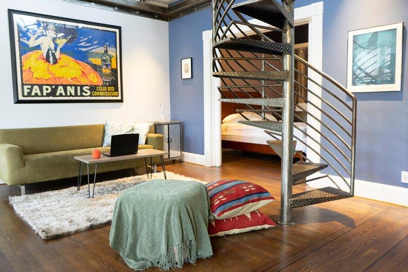 ❤️ A Loft To Love ❤️ Spacious Deck ❤️ Views – semesterbostad i San Francisco