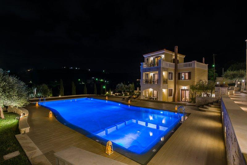 85 m2 maisonette in Stalos, location de vacances à Stalos
