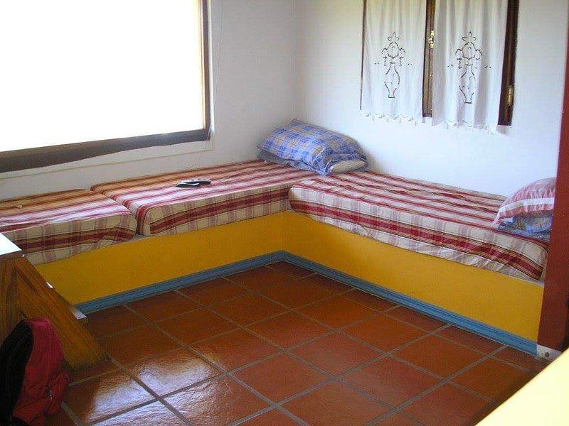 Rez-de-chaussée - 3 lits simples