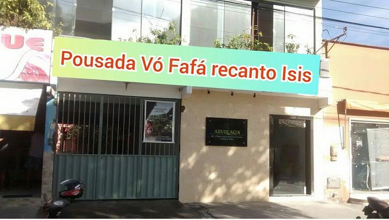 Pousada vó Fafá recanto Isis, location de vacances à Santa Cruz Cabralia