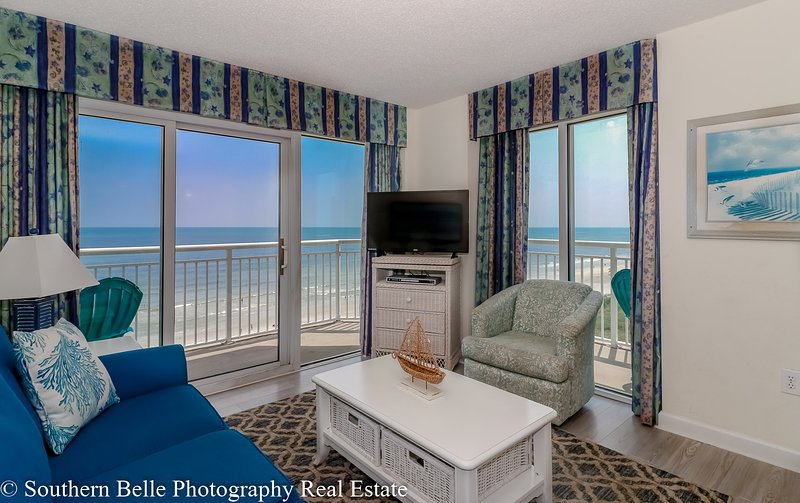 Luxury Wrap Around Balconies 2 Bedroom 2 Bath Ocean Front Condo At Bay Watch Updated 2021 Tripadvisor North Myrtle Beach Vacation Rental