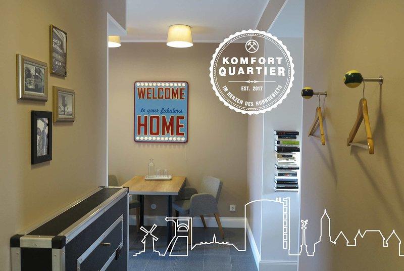 Komfortquartier - Apartment mit Balkon, holiday rental in Bottrop