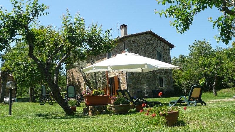 casolare san giusto appartamento piano primo, location de vacances à Roccastrada