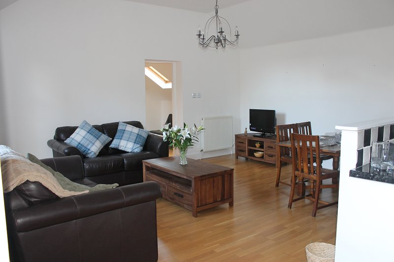 Spacious flat in historic market town, vacation rental in South Lanarkshire
