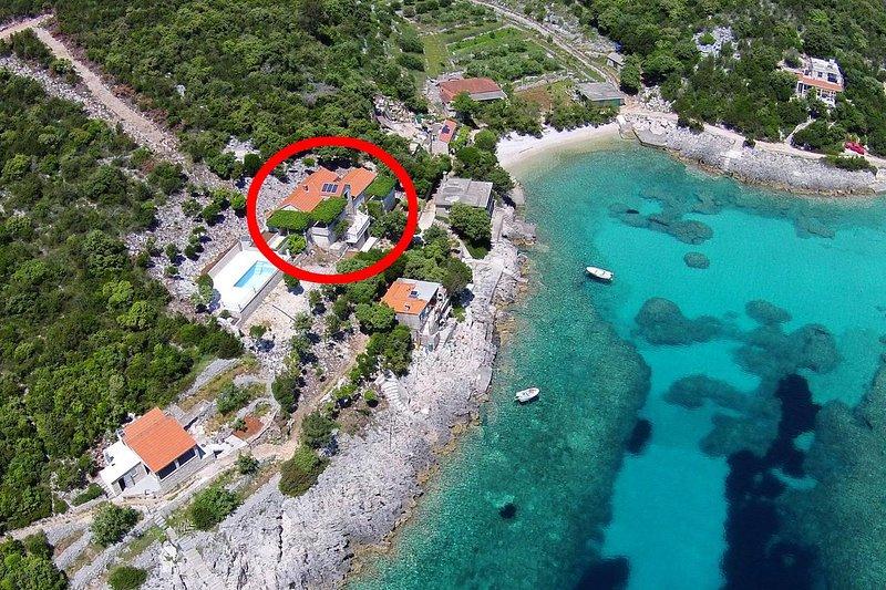 Studio flat Cove Rasohatica, Korčula (AS-5453-a), holiday rental in Zrnovo