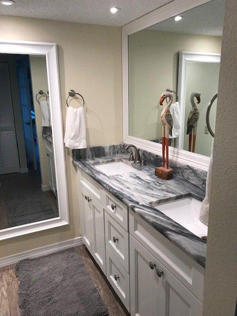 Master Bath.  Renovation completed Jan 2019