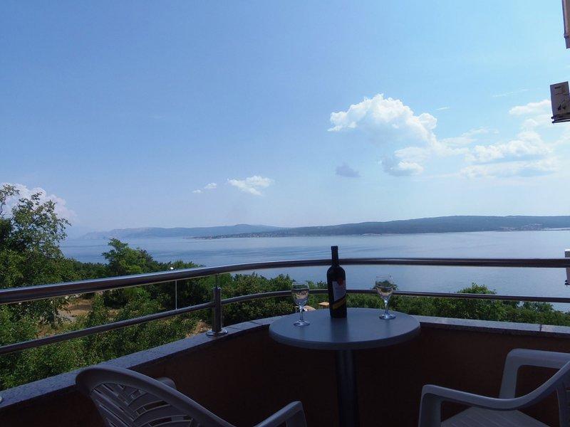 Apartment 4623-2 for 3 Pers. in Dramalj, casa vacanza a Dramalj