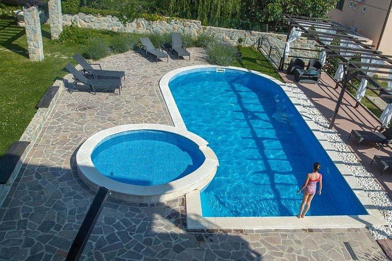 Ferienwohnung 4615-4 für 4+2 Pers. in Lopar, holiday rental in Lopar