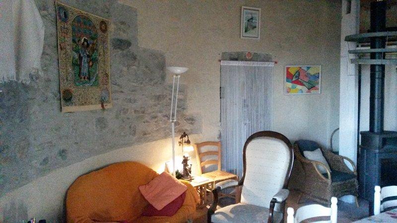 The salon of the Tour Saint Jacques