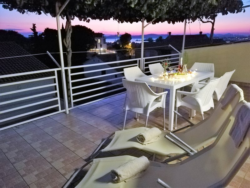 Large terrace  - great place to relax and enjoy