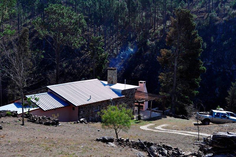 Casa de campo con costa propia sobre el río Los Reartes, alquiler de vacaciones en Santa Rosa de Calamuchita