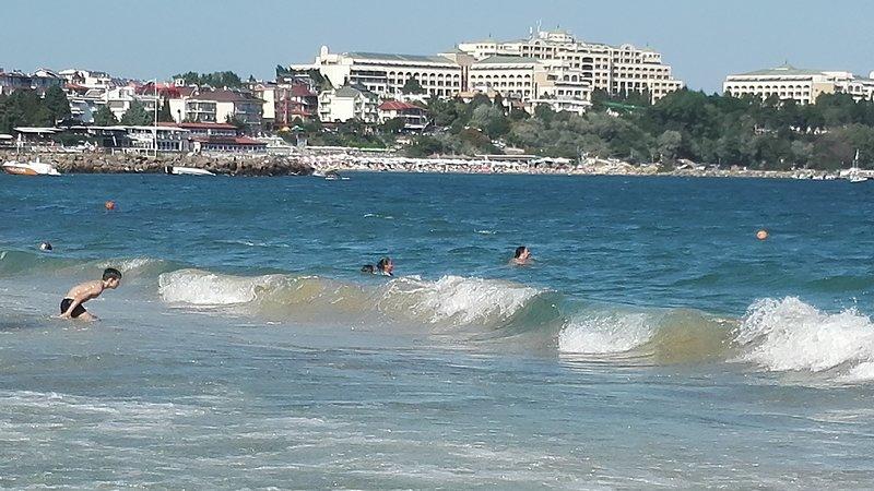 Ravda beach view