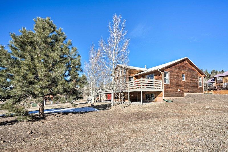 Din nästa Colorado semester börjar här i Woodland Park!