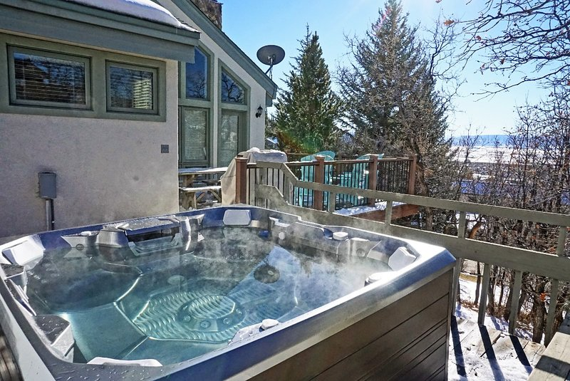 Additional View of the Hot Tub and decks
