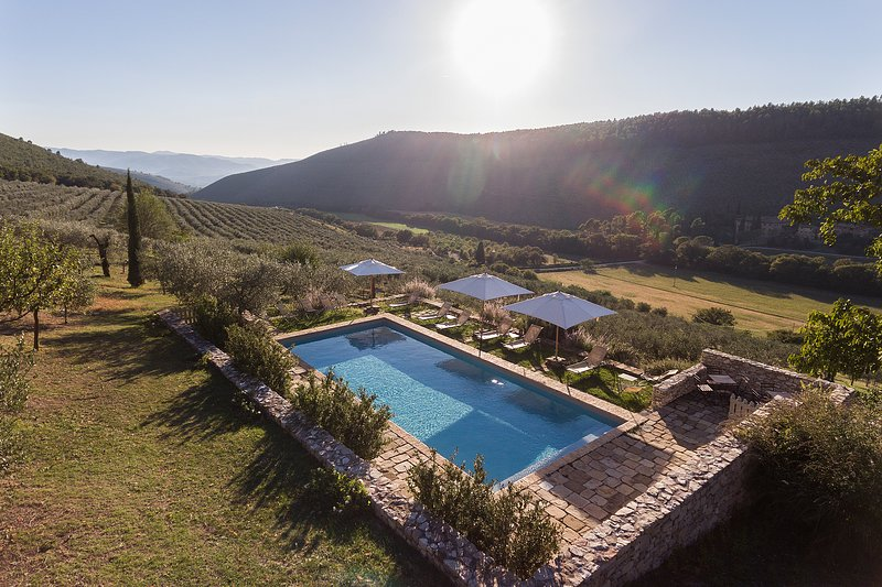 Pianciano-Casa dell'Arco-  Ancient hamlet  with incredibly beautiful surroundings, holiday rental in Spoleto