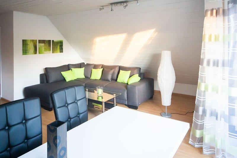 Beautiful Duplex-Apartment, aluguéis de temporada em Leinfelden-Echterdingen