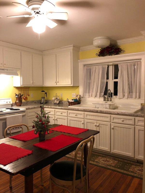 Kitchen in December
