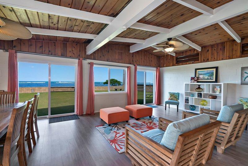Hawaiian gem paradise by the ocean, aluguéis de temporada em Punaluu