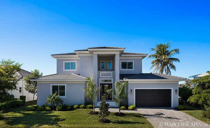 BELLA ALIA - Modern Florida Contemporary Defined; Southwest Exposure!, vacation rental in Marco Island